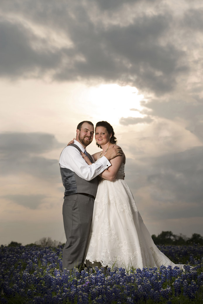 bluebonnet wedding photo